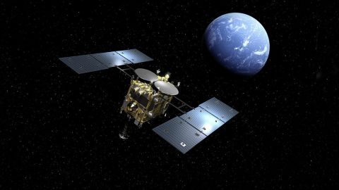 The Japanese spacecraft Hayabusa2 is expected to return to Earth by late 2020.