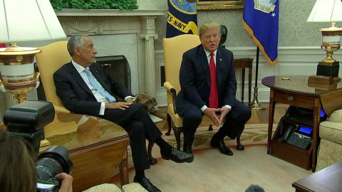 POTUS meets with President of Portugal/TAPE