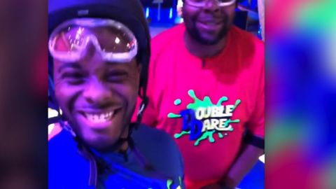 """title: Kel Mitchell 💯 on Instagram: """"Uh oh! The boys are in the building! Fun time shooting Double Dare today with the bro! make sure you watch the premiere tonight on..."""" duration: 00:00:00 site: Instagram author: null published: Wed Dec 31 1969 19:00:00 GMT-0500 (Eastern Standard Time) intervention: no description: null"""