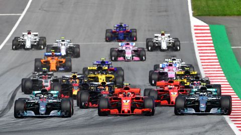 Red Bull's Max Verstappen won a dramatic Austrian Grand Prix as hitherto championship leader Lewis Hamilton and Mercedes teammate, Valtteri Bottas, were forced to retire.