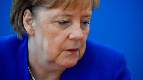Chancellor Angela Merkel initially welcomed migrants to Germany, but has been forced into a more hardline stance.