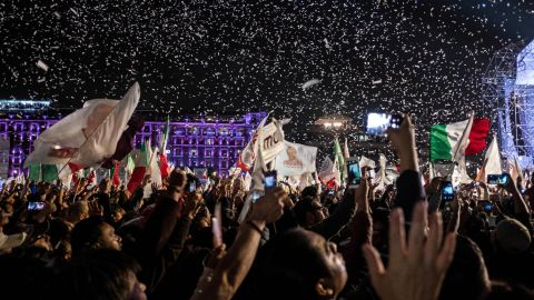 Lopez Obrador at times led by more than 20 points in the pre-election polls, as Mexicans expressed massive dissatisfaction with mainstream political parties.