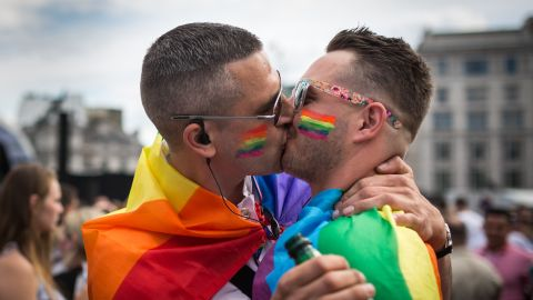 The annual Pride in London Parade takes place on Saturday, July 7.