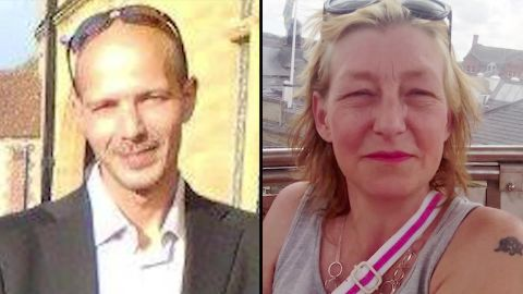 Charles Rowley and Dawn Sturgess are seen in images taken from their Facebook accounts