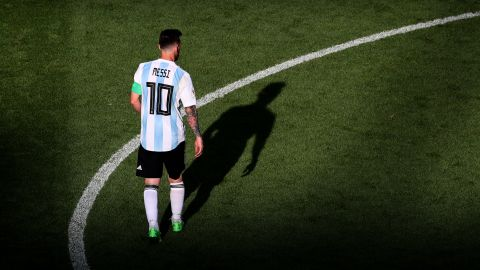 Messi's Argentina was eliminated in the last 16 by France