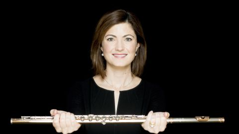 Elizabeth Rowe is the principal flutist at the Boston Symphony Orchestra.
