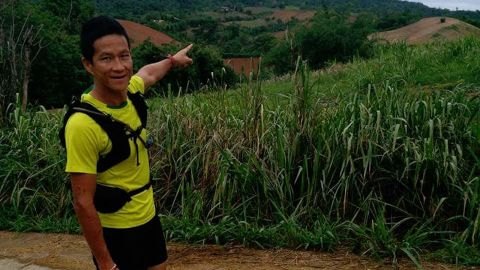 Former Thai Navy SEAL Saman Kunan, who died in the Tham Luang Nang Non cave complex during a massive rescue operation to save 12 boys and their soccer coach.