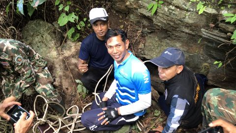 Rescuers are hoping they will find an alternative route into the cave systems, which are heavily flooded and difficult to navigate.