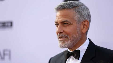 HOLLYWOOD, CA - JUNE 07:  Honoree George Clooney attends the American Film Institute's 46th Life Achievement Award Gala Tribute to George Clooney at Dolby Theatre  on June 7, 2018 in Hollywood, California.  (Photo by Rich Fury/Getty Images)