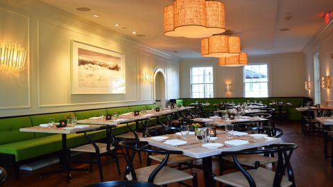 <strong>Jean-Georges at Topping Rose House: </strong>Serving the produce from the surrounding Topping Rose Farm, and other local farms, this popular restaurant has an attractive buzz, even when it's not completely full.