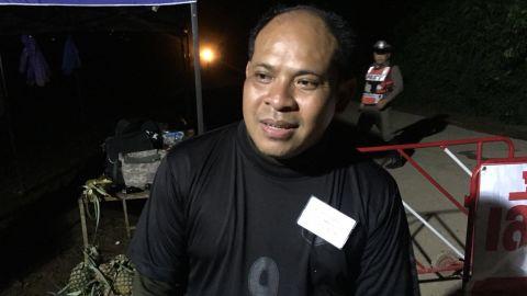 Adisak Wongsukchan, father of rescued Wild Boars soccer player Akarat Wongsukchan.