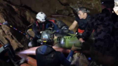 Thai boys rescue video