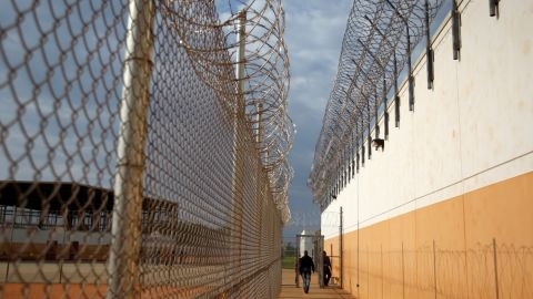 ICE says Efrain De La Rosa, 40, was found unresponsive in a cell at the Stewart Detention Center.