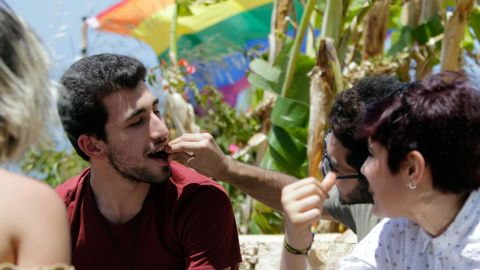 """""""People are attacked when they are visible, when they are organized. People attack out of fear and misunderstanding,"""" says Damien. Beirut Pride is working to address misrepresentation of homosexuality."""