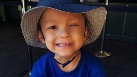 5-year-old Garrett Matthias loved superheroes Thor and Batman.