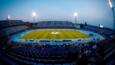 Many of Croatia's home internationals are played at the Maksimir Stadium in Zagreb.