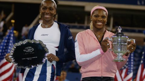 Serena comes out on top after another final with Venus, beating her sister in straight sets to win her second US Open title in 2002.