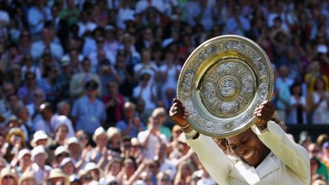 Another victory over sister Venus in a Wimbledon final and Serena clinches her third title at SW19 in 2009.