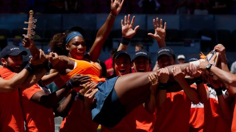 Another US Open for Serena, beating  Azarenka in the 2013 final for the second successive year.