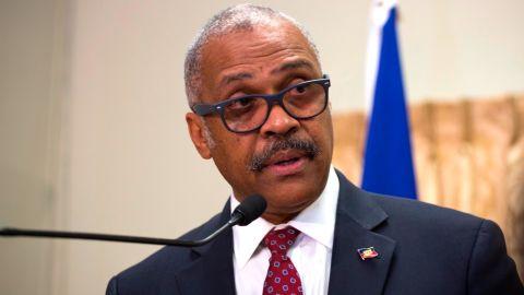 Haiti's Prime Minister Jack Guy Lafontant