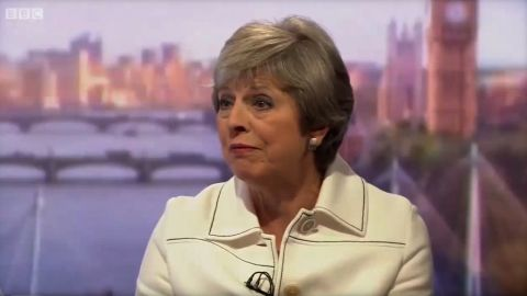 Theresa May INTV