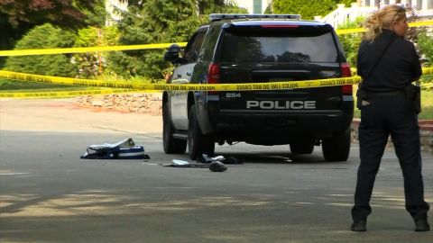 """A Weymouth police officer was shot Sunday morning, and police describe the situation as """"very critical."""""""