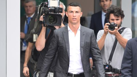 During his nine years with Real, Ronaldo won six trophies and scored 451 goals.