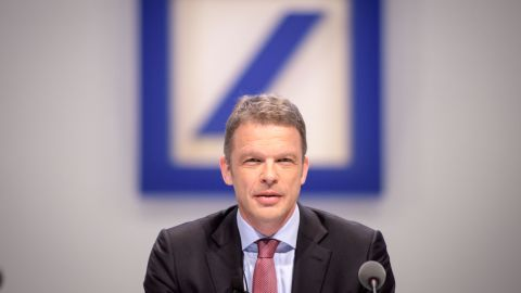 Christian Sewing, the new CEO of Deutsche Bank.