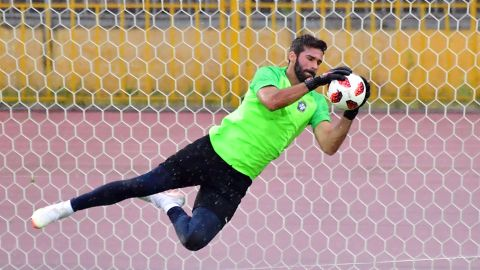 Alisson kept three clean sheets in five games for Brazil at this summer's World Cup.