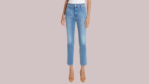 "<strong>Frame Slender Straight ($173.90, originally $260; </strong><a href=""https://click.linksynergy.com/deeplink?id=Fr/49/7rhGg&mid=1237&u1=0720anniversarysale&murl=https%3A%2F%2Fshop.nordstrom.com%2Fs%2Fframe-le-slender-straight-leg-jeans-thistle%2F4952860%3Forigin%3Dkeywordsearch-personalizedsort%26color%3Dthistle"" target=""_blank"" target=""_blank""><strong>nordstrom.com</strong></a><strong>)</strong>"