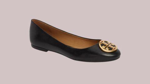 "<strong>Tory Burch Benton Ballet Flat ($164.90, originally $248; </strong><a href=""https://click.linksynergy.com/deeplink?id=Fr/49/7rhGg&mid=1237&u1=0720anniversarysale&murl=https%3A%2F%2Fshop.nordstrom.com%2Fs%2Ftory-burch-benton-ballet-flat-women%2F4908870%3Forigin%3Dkeywordsearch-personalizedsort%26color%3Dperfect%2520black"" target=""_blank"" target=""_blank""><strong>nordstrom.com</strong></a><strong>)</strong>"