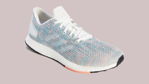 """<strong>Adidas PureBoost DPR Running Shoe ($104.90; </strong><a href=""""https://click.linksynergy.com/deeplink?id=Fr/49/7rhGg&mid=1237&u1=0720anniversarysale&murl=https%3A%2F%2Fshop.nordstrom.com%2Fs%2Fadidas-pureboost-dpr-running-shoe-women%2F4863609%3Forigin%3Dkeywordsearch-personalizedsort%26color%3Dwhite%252F%2520white%252F%2520chalk%2520coral"""" target=""""_blank"""" target=""""_blank""""><strong>nordstrom.com</strong></a><strong>)</strong>"""