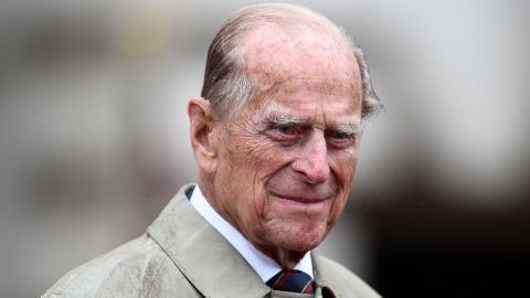 Britain's Prince Philip, Duke of Edinburgh, in his role as Captain General, Royal Marines, attends a Parade to mark the finale of the 1664 Global Challenge on the Buckingham Palace Forecourt in central London on August 2, 2017.   After a lifetime of public service by the side of his wife Queen Elizabeth II, Prince Philip finally retires on August 2, 2017,at the age of 96. The Duke of Edinburgh attended a parade of Royal Marines at Buckingham Palace, the last of 22,219 solo public engagements since she ascended to the throne in 1952.  / AFP PHOTO / POOL / HANNAH MCKAY        (Photo credit should read HANNAH MCKAY/AFP/Getty Images)