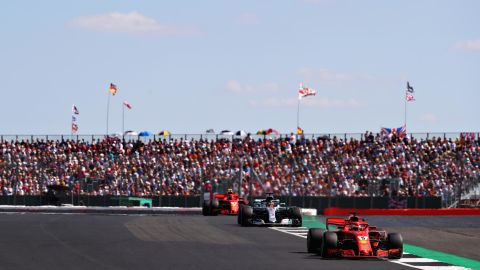 Home favorite Lewis Hamilton was denied a sixth victory at the British Grand Prix as Ferrari's Sebastian Vettel took control of the championship at Silverstone