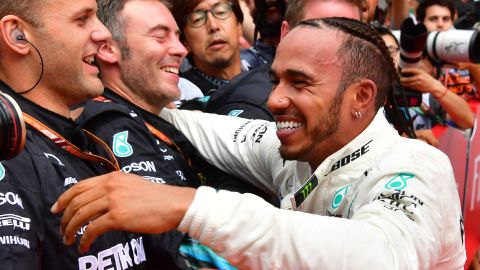 Hamilton - 188<br />Vettel - 171<br />Raikkonen - 131