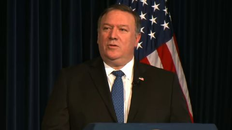 """Secretary Pompeo delivers remarks on """"Supporting Iranian Voices"""", at the Ronald Reagan Presidential Library and Center for Public Affairs."""