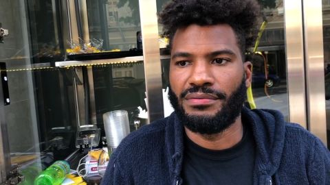 Black owner of San Francisco lemonade stand has police called on him while trying to open his business    Interview is with Viktor Stevenson