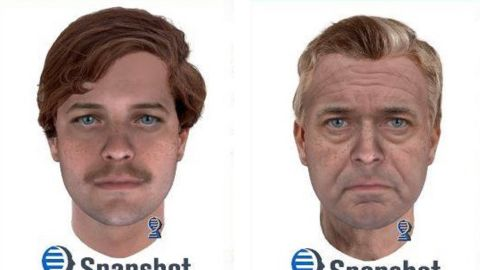 The Marinette County Sheriff's Office released composite images of the suspect in an unsolved 1976 double homicide at two different ages.