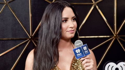 INGLEWOOD, CA - DECEMBER 01:  (EDITORIAL USE ONLY. NO COMMERCIAL USE) Demi Lovato in the press room during 102.7 KIIS FM's Jingle Ball 2017 presented by Capital One at The Forum on December 1, 2017 in Inglewood, California.  (Photo by Alberto E. Rodriguez/Getty Images for iHeartMedia)