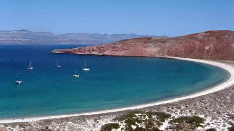 The family has seen extraordinary beaches during its time at sea, including Isla San Francisco, an island off Baja California in Mexico.