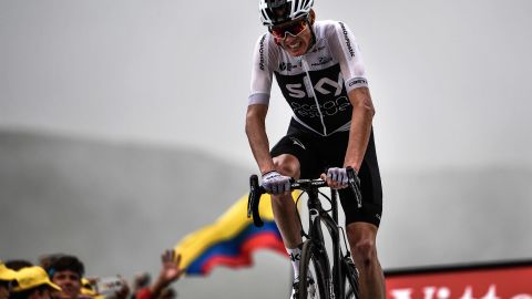 Froome is aiming for a record-equaling fourth successive Tour win.
