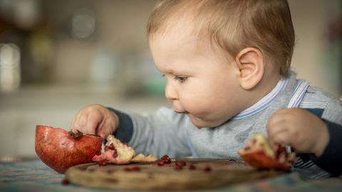 """You can begin """"picky-proofing"""" when baby begins eating solid foods. """"Babies learn taste preferences from a very early age, so offer a variety of tastes, textures, and even temperatures of food,"""" said pediatric feeding specialist <a href=""""https://mymunchbug.com/"""" target=""""_blank"""" target=""""_blank"""">Melanie Potock</a>, author of """"Adventures in Veggieland."""""""