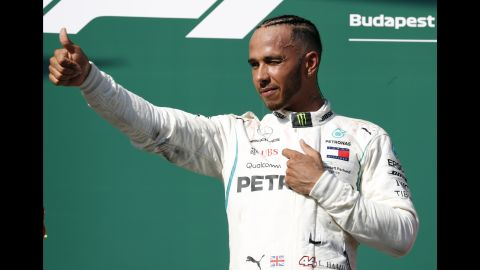 Hamilton went into F1's summer break with a season-high 24-point advantage in the title race over Vettel after winning at the Hungaroring.
