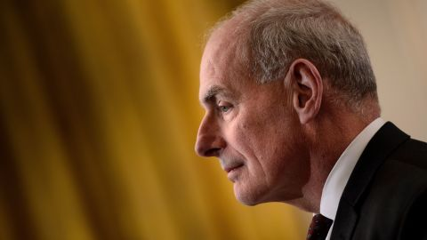 White House Chief of Staff John Kelly awaits fthe start of a jobs creation pledge event in the East Room of the White House July 19, 2018 in Washington, DC. (BRENDAN SMIALOWSKI/AFP/Getty Images)