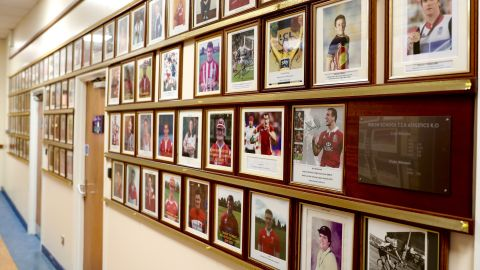 Whitchurch High's 'Wall of Fame'