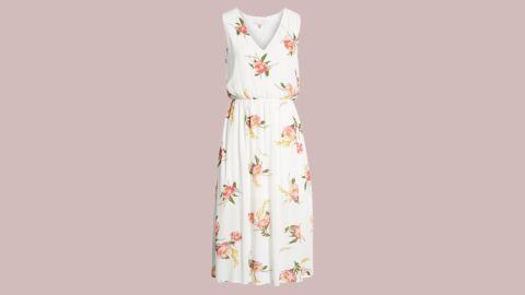 "<strong>WAYF Sleeveless Blouson Midi Dress ($49.90, originally $75; </strong><a href=""https://click.linksynergy.com/deeplink?id=Fr/49/7rhGg&mid=1237&u1=0720anniversarysale&murl=https%3A%2F%2Fshop.nordstrom.com%2Fs%2Fwayf-sleeveless-blouson-midi-dress%2F4930189%3Forigin%3Dcategory-personalizedsort%26breadcrumb%3DHome%252FAnniversary%2520Sale%252FWomen%26color%3Divory%252F%2520red%2520baroque%2520floral"" target=""_blank"" target=""_blank""><strong>nordstrom.com</strong></a><strong>)</strong>"