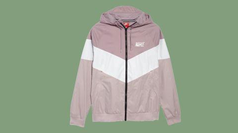 "<strong>Nike Windrunner Wind & Water Repellent Hooded Jacket ($74.90, originally $100; </strong><a href=""https://click.linksynergy.com/deeplink?id=Fr/49/7rhGg&mid=1237&u1=0720anniversarysale&murl=https%3A%2F%2Fshop.nordstrom.com%2Fs%2Fnike-windrunner-wind-water-repellent-hooded-jacket%2F4716274%3Forigin%3Dcategory-personalizedsort%26breadcrumb%3DHome%252FAnniversary%2520Sale%252FMen%26color%3Delemental%2520rose%252F%2520summit%2520white"" target=""_blank"" target=""_blank""><strong>nordstrom.com</strong></a><strong>)</strong>"