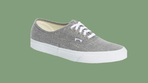 """<strong>Vans Authentic Sneaker ($39.90, originally $59.95; </strong><a href=""""https://click.linksynergy.com/deeplink?id=Fr/49/7rhGg&mid=1237&u1=0720anniversarysale&murl=https%3A%2F%2Fshop.nordstrom.com%2Fs%2Fvans-authentic-sneaker-men%2F4914307%3Forigin%3Dcategory-personalizedsort%26breadcrumb%3DHome%252FAnniversary%2520Sale%252FMen%26color%3Dgrey%2520linen"""" target=""""_blank"""" target=""""_blank""""><strong>nordstrom.com</strong></a><strong>)</strong>"""