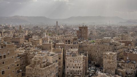 A view of Yemen's capital, Sanaa.