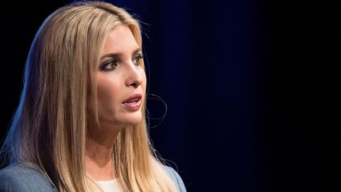 US President Special advisor and daughter Ivanka Trump participates in a conversation on workforce development and news of the day at the Newseum in Washington on August 2, 2018. (JIM WATSON/AFP/Getty Images)